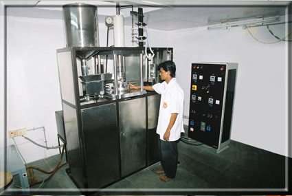 Moulding Section 6 Ram Extrusion Machine